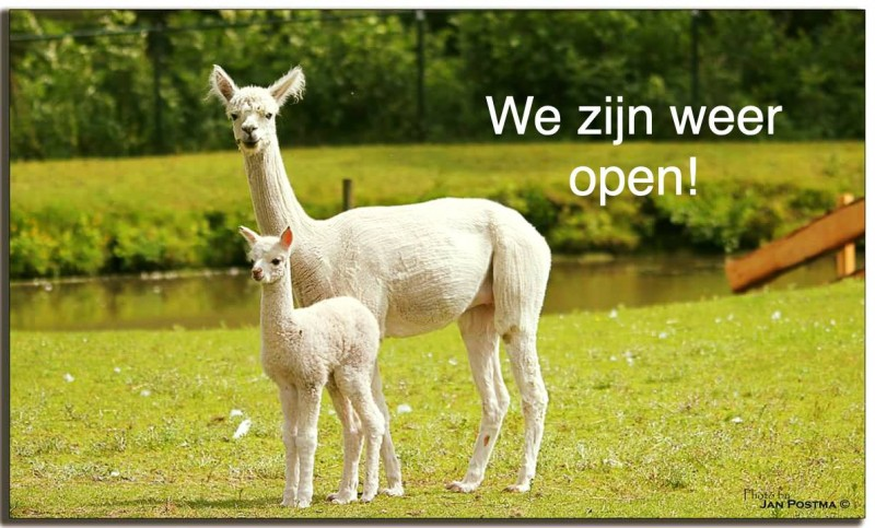 Hertenkamp Kollum is weer open!