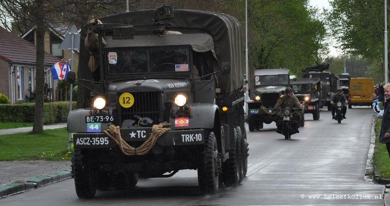 Legervoertuigen Keep them Rolling op 5 mei in Kollum