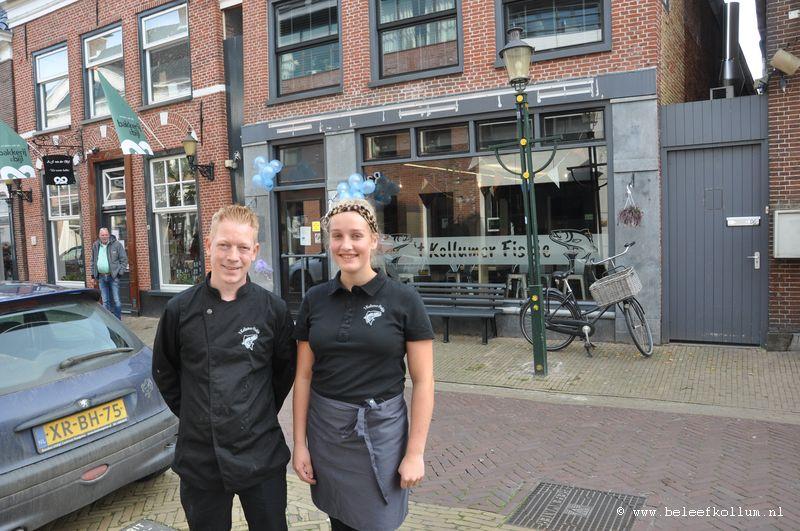 't Kollumer Fiskje officieel geopend