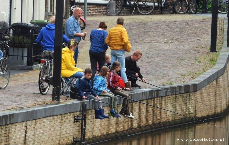 Geslaagde viswedstrijd voor de jeugd in Kollum
