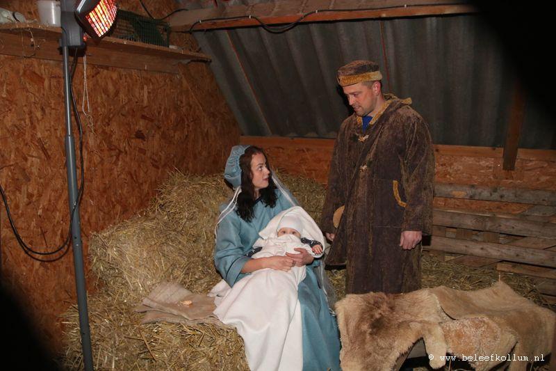 Kerst-sfeer op het hertenkamp Kollum