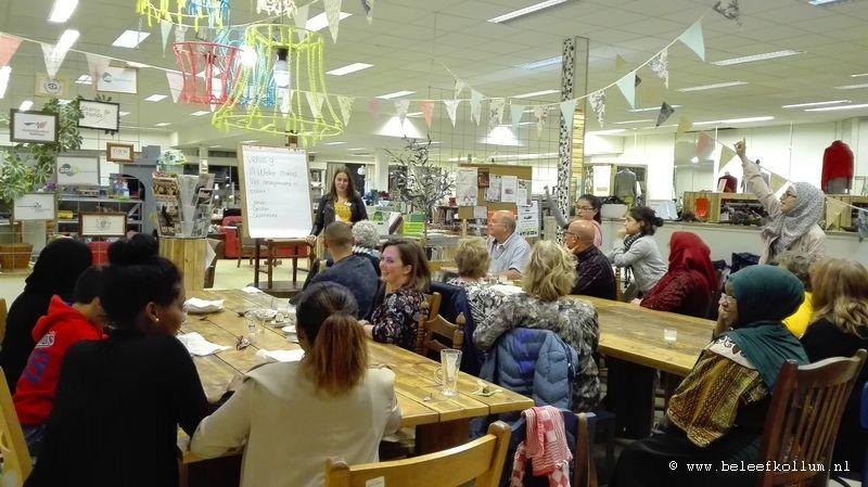 Raderwerk Kollum een plaats van ontmoeting