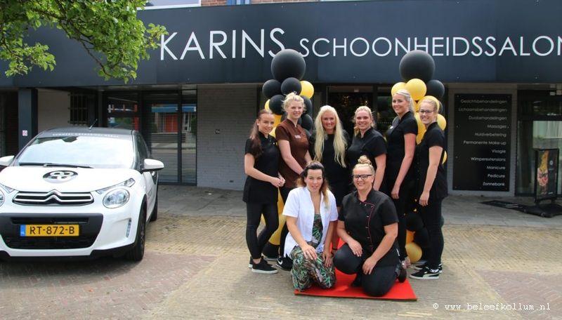 Tien jaar Schoonheidssalon Karin
