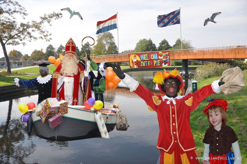 Sinterklaas intocht Kollum