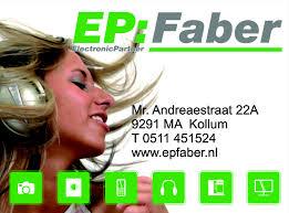Elektronica en witgoed E.P. Faber
