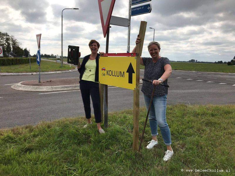 Girlpower in Kollum!!