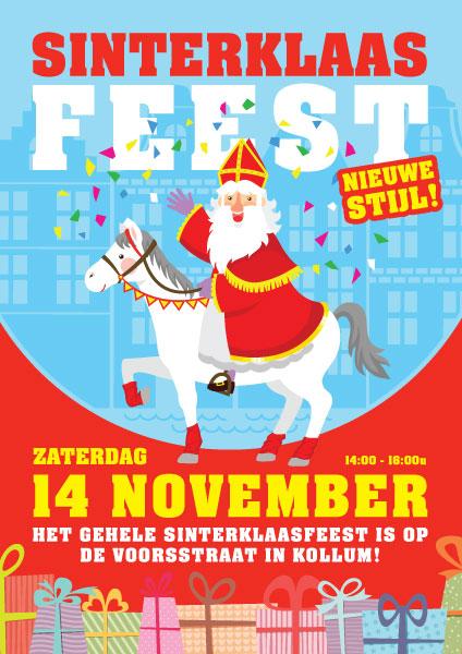 Sinterklaas Viert Zijn Feest Dit Jaar Op De Voorstraat Him